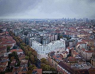 esperienza drone immagine portfolio architettura aerea zenitale diurna milano residenze carlo erba sei.jpg
