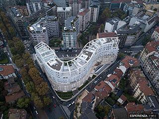 esperienza drone immagine portfolio architettura aerea zenitale diurna milano residenze carlo erba tre.jpg