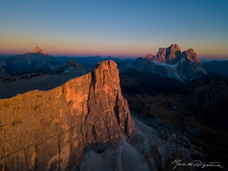 esperienza drone immagine portfolio naturalistica turismo promozione territorio italia cortina ampezzo crodadalago panoramica lastoidiformin tramonto 1.jpg