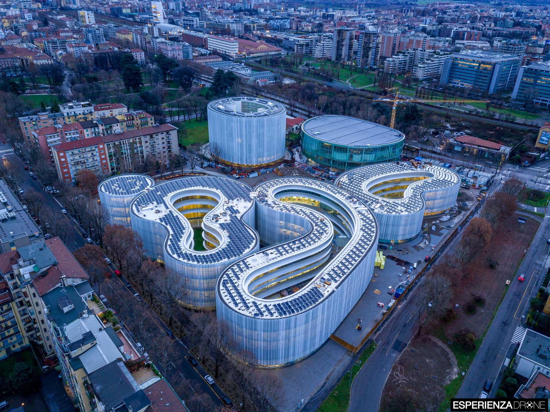 esperienza drone fotografia aerea architettura bocconi milano campus bocconi tre.jpg