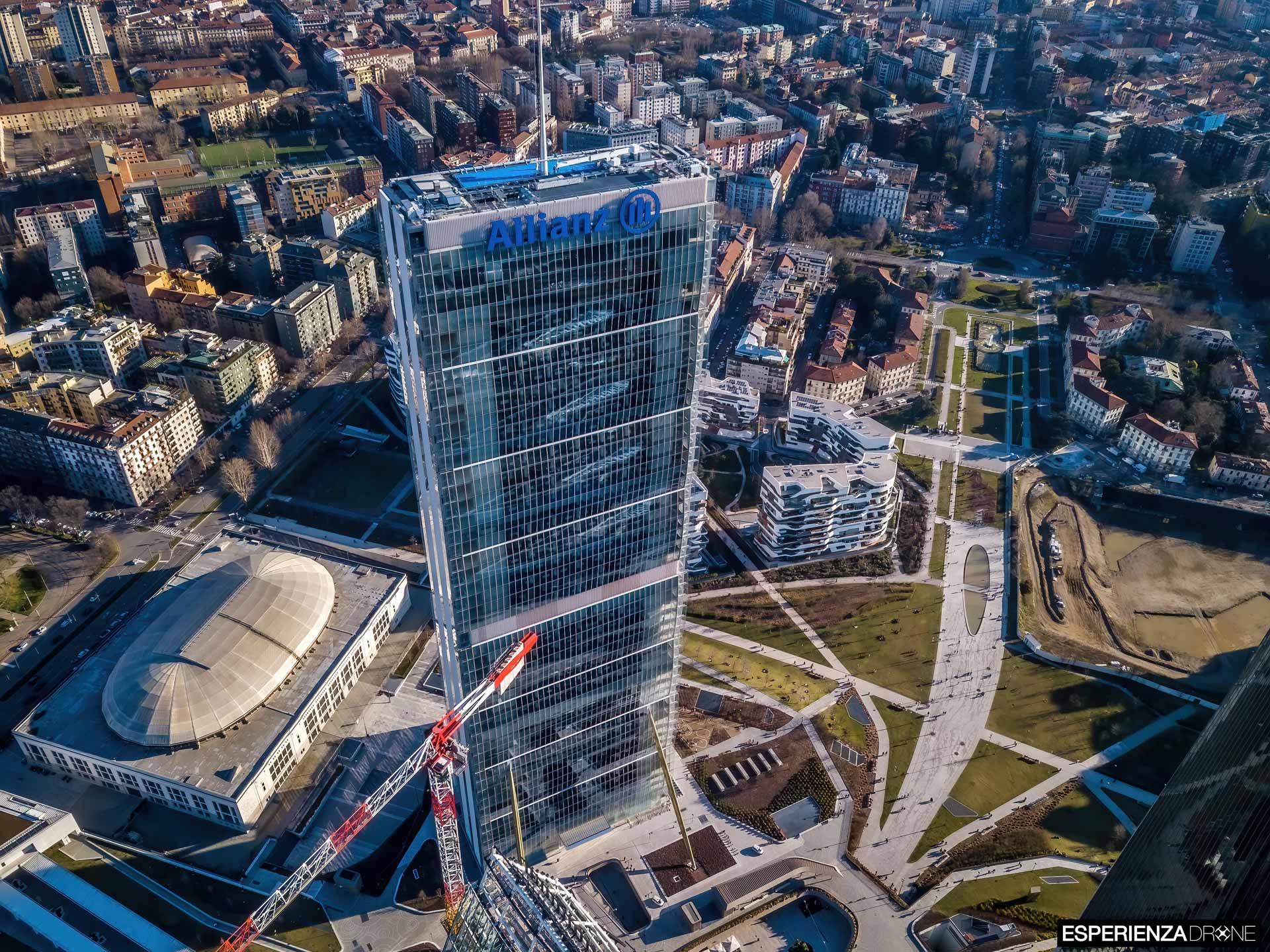 esperienza drone fotografia aerea costruzione torri citylife milano nove.jpg
