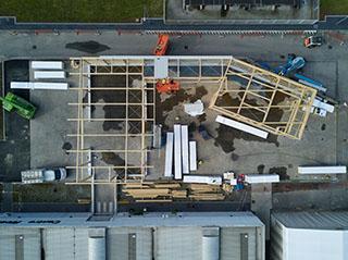 esperienza drone immagine aerea portfolio cantiere architettura milano studio gdmp costruzione magazzino undici 1.jpg