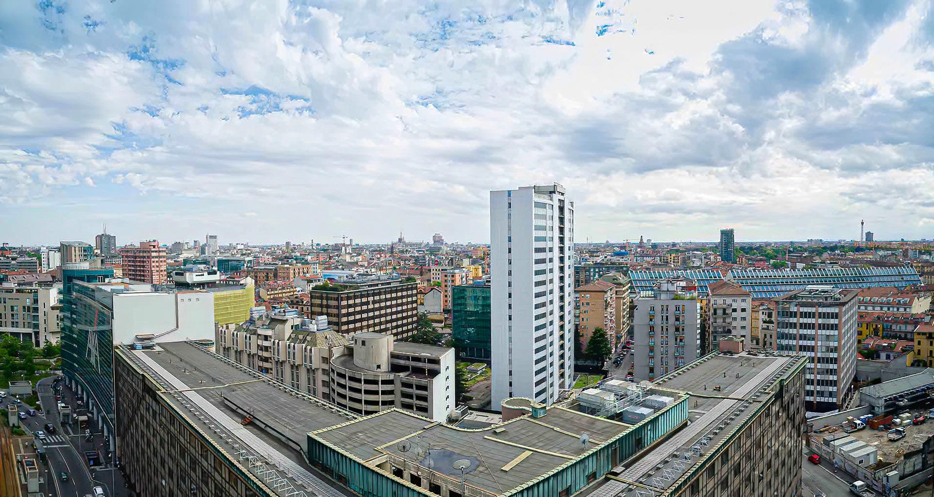 esperienza drone immagine aerea portfolio panoramica angolare architettura milano piuarch_porta_garibaldi studio recupero edilizio 1.jpg