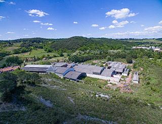 esperienza drone immagine zenitale aerea portfolio architettura piuarch_fendi studio recupero edilizio bagno a Ripoli due.jpg
